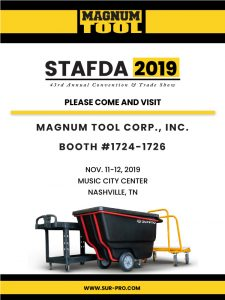 Visit Us at STAFDA Nov. 11-12th, 2019